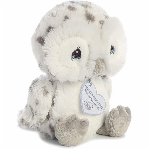 Nigel Snow Owl 8 inch - Baby Stuffed Animal by Precious Moments (15712) Perspective: bottom