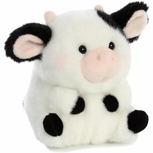Aurora World Rolly Pet Daisy Cow Plush Perspective: bottom