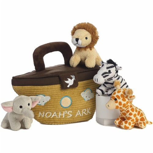 Noah's Ark Plush Playset for Baby by Aurora - 20808 Perspective: bottom