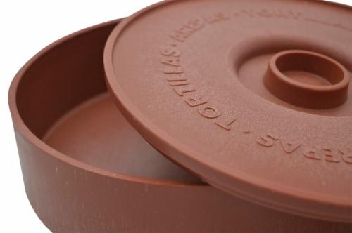 IMUSA Terracotta Tortilla Warmer Perspective: bottom