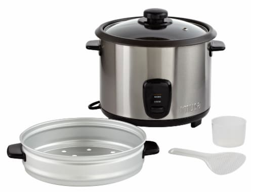 IMUSA Rice Cooker with Steam Tray Perspective: bottom