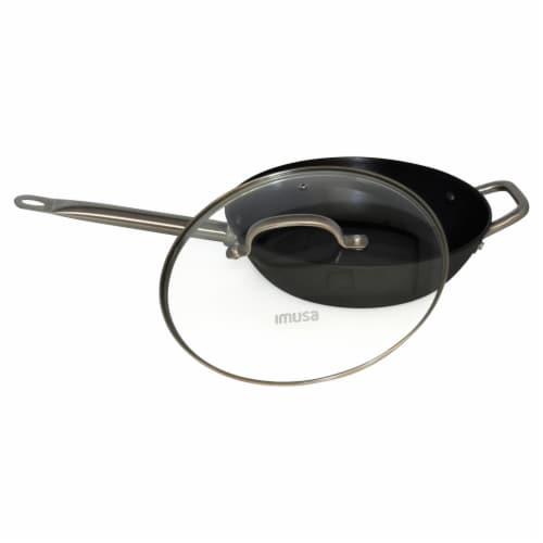 IMUSA Light Cast Iron Jumbo Cooker - Black Perspective: bottom