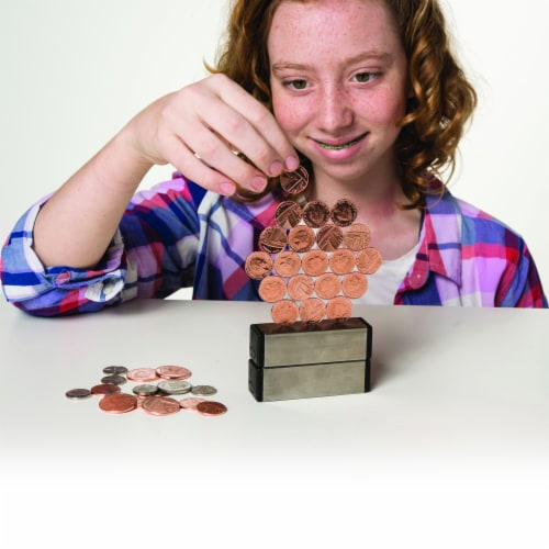 Dowling Magnets Magic Penny Magnet Kit, Fourth Edition Perspective: bottom