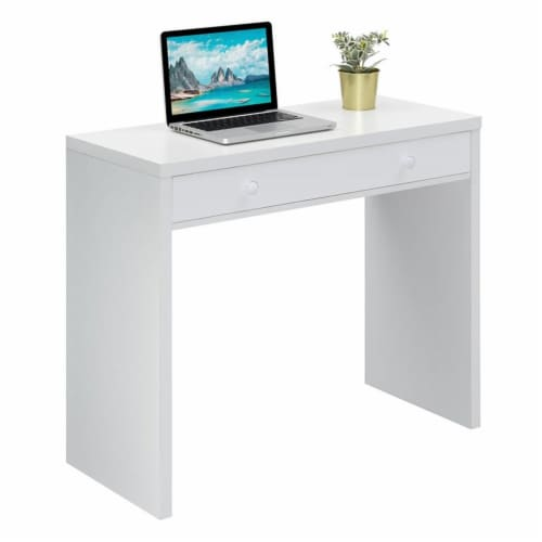 Northfield 36 inch Desk with Drawer Perspective: bottom