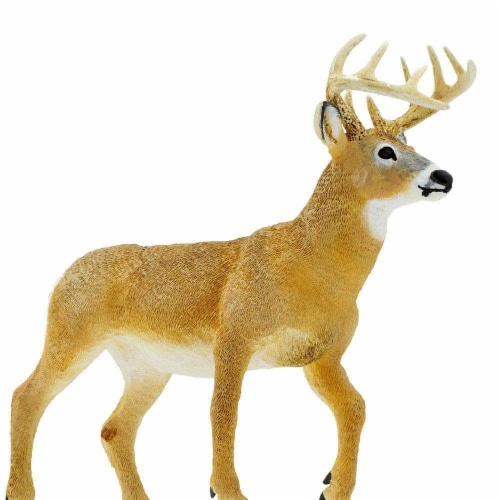 Whitetail Buck Toy Perspective: bottom