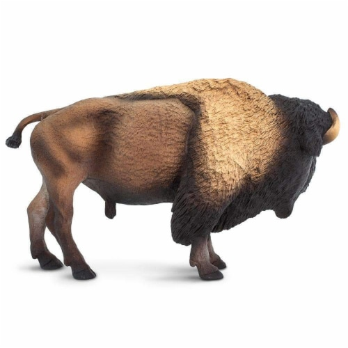 Bison Toy Perspective: bottom