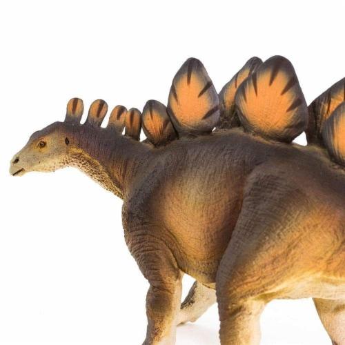 Stegosaurus Toy Perspective: bottom