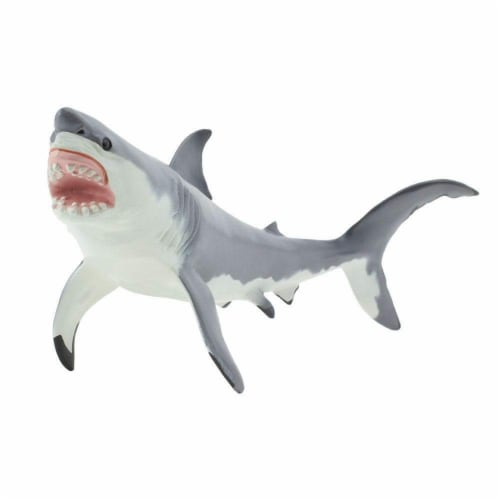 Great White Shark Toy Perspective: bottom