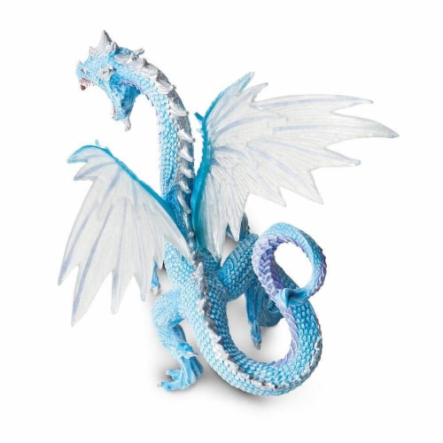 Ice Dragon Toy Perspective: bottom