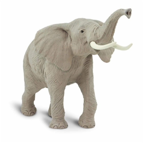 African Elephant Toy Perspective: bottom