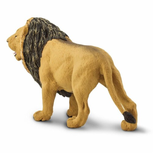 Lion Toy Perspective: bottom
