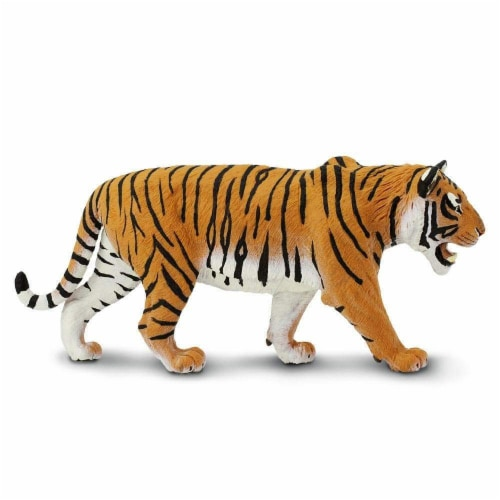 Siberian Tiger Toy Perspective: bottom