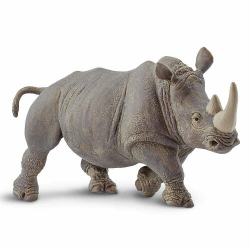 White Rhino Toy Perspective: bottom