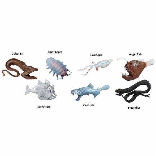 Deep Sea Creatures TOOB Perspective: bottom
