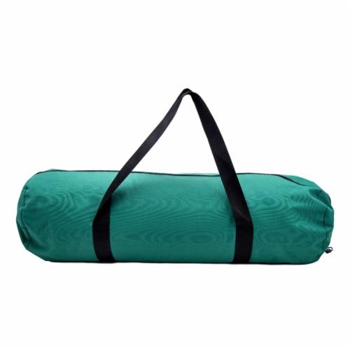 Kamp-Rite 35 x 78 Inch Cotton Canvas Rectangular Sleeping Bag 0 Degree, Khaki Perspective: bottom