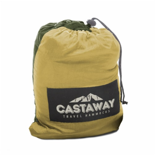 Castaway Hammock Single Olive/Khaki Perspective: bottom