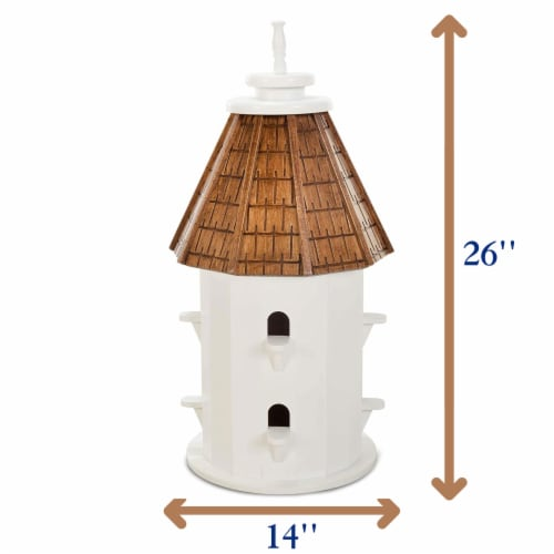 Castaway Two-Tiered Bird House Perspective: bottom