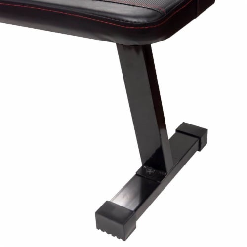 Marcy Multipurpose Home Gym Workout Utility Flat Board Bench | SB315 Perspective: bottom