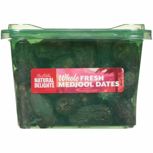 Bard Valley Natural Delights Whole Fresh Medjool Dates Perspective: bottom