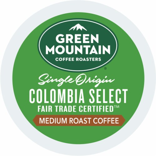 Green Mountain Coffee Colombia Select Medium Roast K-Cup Pods Perspective: bottom