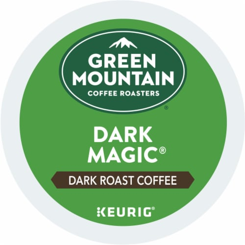Green Mountain Coffee Dark Magic Dark Roast Coffee K-Cup Pods Perspective: bottom