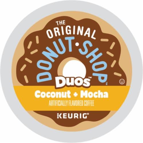 The Original Donut Shop Coconut Mocha Medium Roast Coffee K-Cup Pods Perspective: bottom