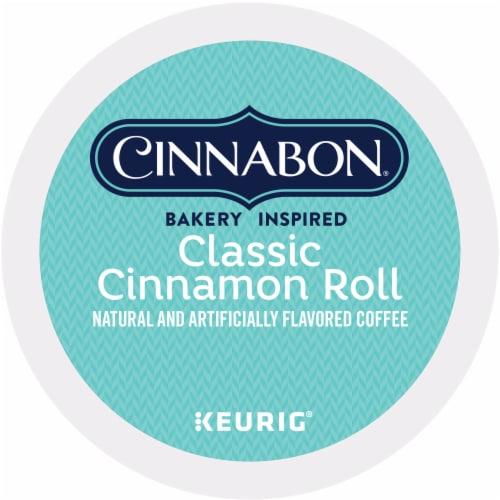 Cinnabon Classic Cinnamon Roll Light Roast K-Cup Pods Perspective: bottom