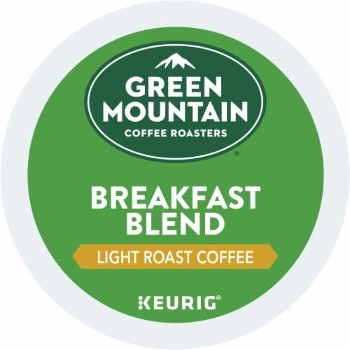 Green Mountain Coffee Roasters Breakfast Blend Light Roast K-Cup Pods Perspective: bottom