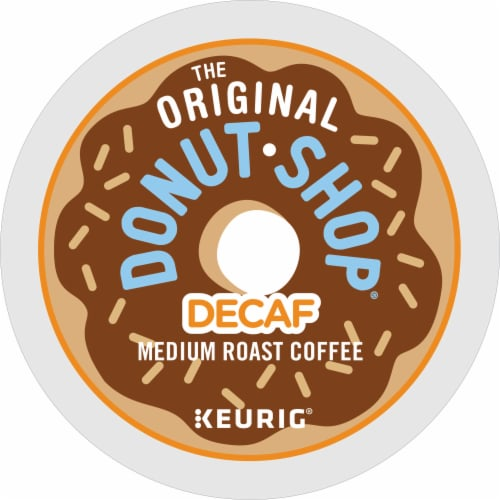 The Original Donut Shop Decaf Medium Roast Coffee K-Cup Pods Perspective: bottom