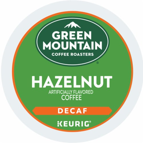 Green Mountain Coffee Roasters Decaf Hazelnut K-Cup Pods Perspective: bottom