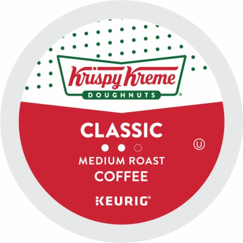 Krispy Kreme Classic Medium Roast Coffee K-Cup Pods Perspective: bottom