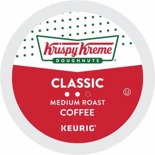 Krispy Kreme Classic Medium Roast Coffee K-Cup Pods Perspective: bottom