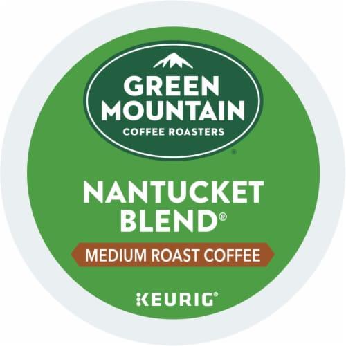 Green Mountain Nantucket Blend Medium Roast Coffee K-Cup Pods Perspective: bottom
