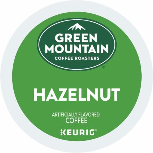 Green Mountain Coffee Hazelnut Coffee K-Cup Pods Perspective: bottom