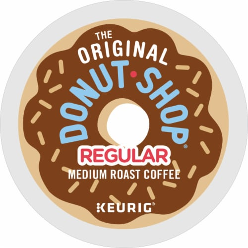 The Original Donut Shop Regular Medium Roast Coffee K-Cup Pods Perspective: bottom