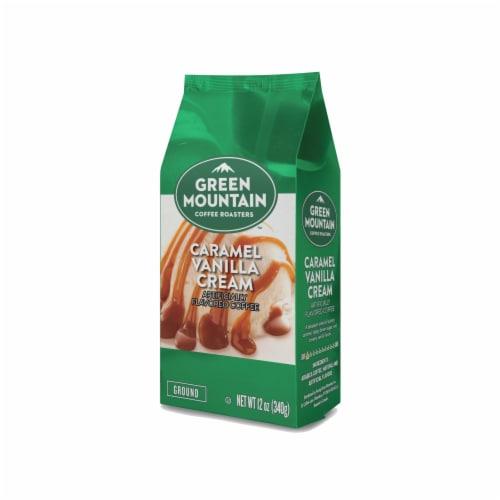 Green Mountain Coffee Caramel Vanilla Cream Flavored Ground Coffee Perspective: bottom
