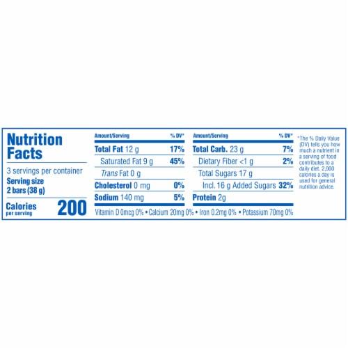 Butterfinger Peanut Butter Crisp Bars Perspective: bottom