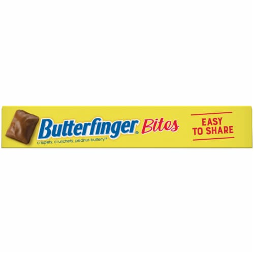 Butterfinger Bites Candy Theater Box Perspective: bottom