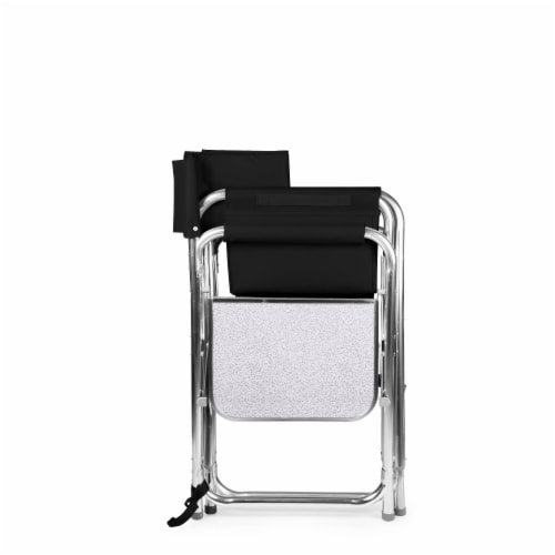 Sports Chair, Black Perspective: bottom