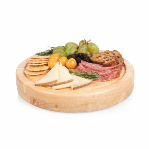 Circo Cheese Cutting Board & Tools Set, Rubberwood Perspective: bottom