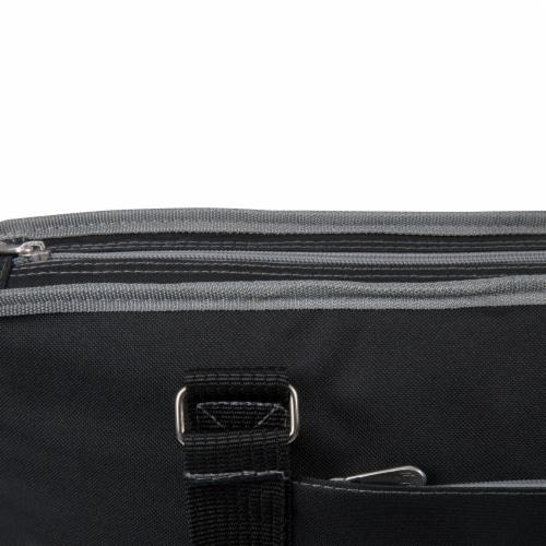 Topanga Cooler Tote Bag, Black Perspective: bottom