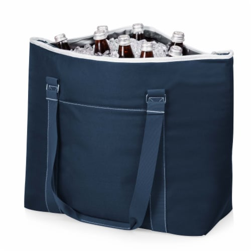 Tahoe XL Cooler Tote Bag, Navy Blue Perspective: bottom