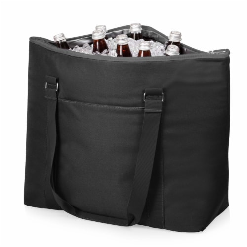 Tahoe XL Cooler Tote Bag, Black Perspective: bottom