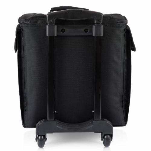 Bodega Rolling Wine Cooler, Black Perspective: bottom