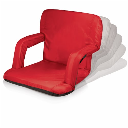 Arkansas Razorbacks - Ventura Portable Reclining Stadium Seat Perspective: bottom