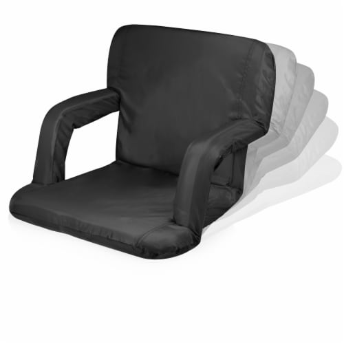 Purdue Boilermakers - Ventura Portable Reclining Stadium Seat Perspective: bottom