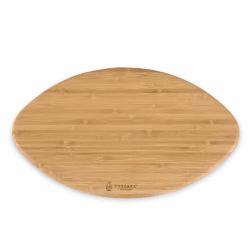 Oakland Raiders Touchdown! Football Cutting Board & Serving Tray Perspective: bottom