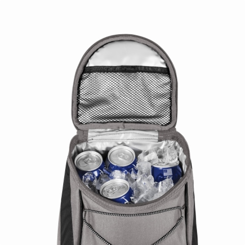 App State Mountaineers - PTX Backpack Cooler Perspective: bottom