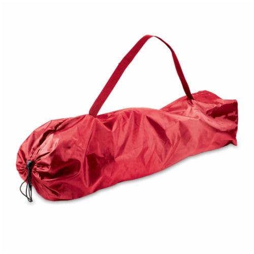 Louisville Cardinals - Reclining Camp Chair Perspective: bottom