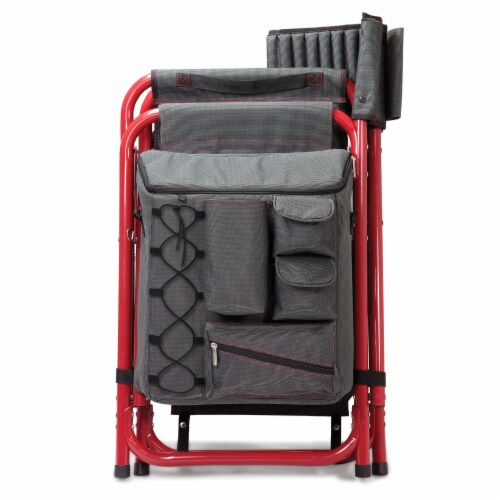 Arkansas Razorbacks - Fusion Backpack Chair with Cooler Perspective: bottom